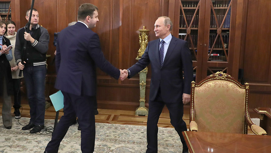 Медведев, назначения и отставки, путин