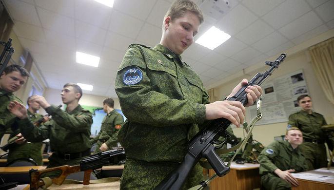 Путин одобрил закон овоенных учебных центрах при университетах