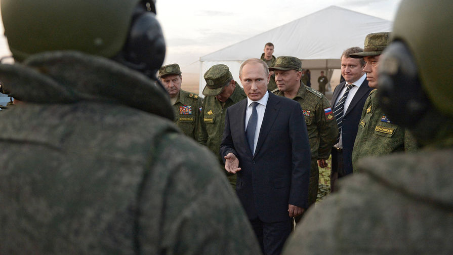 Путин проверяет арсеналы