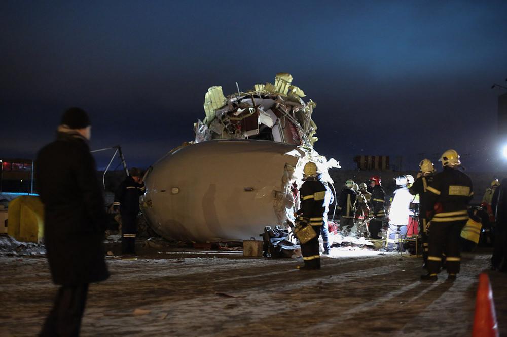 Плохие новости.  Во Внуково при заходе на посадку разбился Ту-204 компании Red Wings.