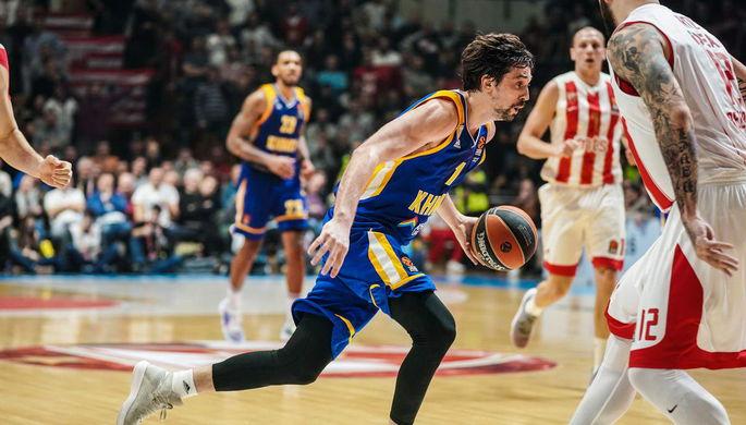 «Химки» нанесли поражение «Црвене Звезде» вбаскетбольной Евролиге, Швед набрал 29 очков