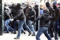 В Германии во время антикапиталистической демонстрации ранены 15 человек, около 500 арестованы
