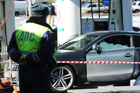 В Москве на автозаправке застрелен бывший мэр города Шахты Сергей Пономаренко