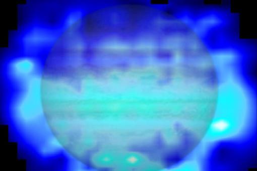 Распределение воды в атмосфере Юпитера
