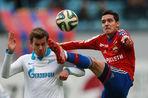 ЦСКА обыграл «Зенит» в матче 21-го тура чемпионата России по футболу