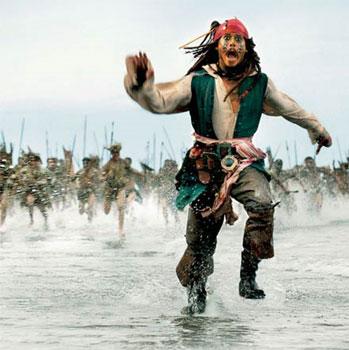 Компания Дисней подписала контракт на разработку сценария пятых Пиратов Карибского моря