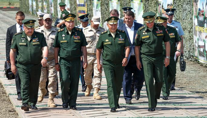 Шойгу: США подталкивают мир к новейшей гонке вооружений