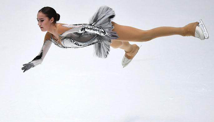 Загитова выигралаЧР пофигурному катанию, уступив 8 баллов мировому рекорду