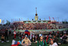 Российские фанаты в фан-зоне на ВВЦ