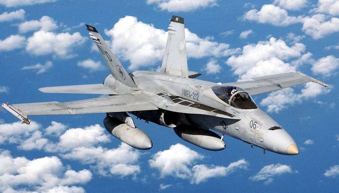 Американский истребитель потерпел крушение вблизи японского острова