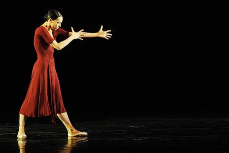 Диана Вишнева представила в Москве сольный проект «Диалоги»