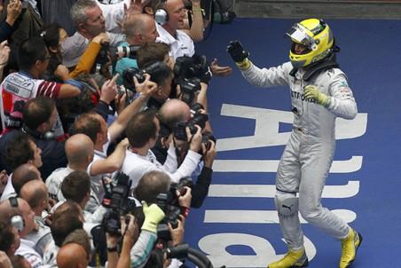 Нико Росберг выиграл Гран-при Китая