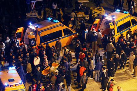 В Каире начался суд по делу о массовых беспорядках после футбольного матча в Порт-Саиде