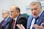 Владимир Жириновский и Геннадий Зюганов готовятся к политической пенсии