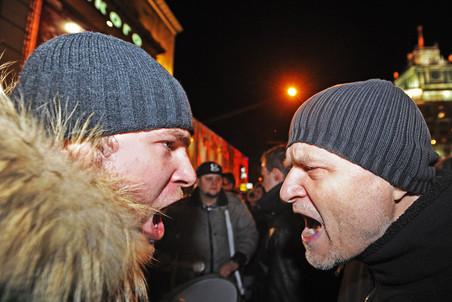 В Москве прошла несанкционированная акция протеста на Триумфальной площади против фальсификации...