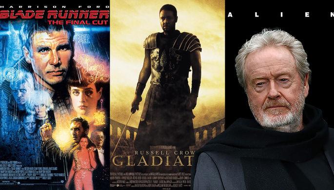 Кинорежиссер Ридли Скотт получит почетную премию BAFTA