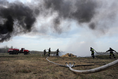 Amur region firefighters suspected of arson — Gazeta.Ru