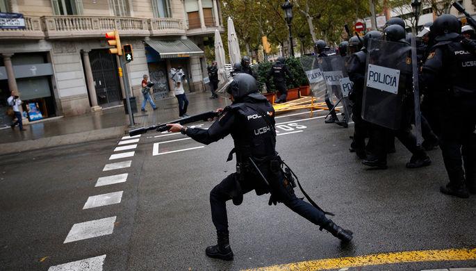 Власти Каталонии готовы обратиться всуд из-за действий милиции
