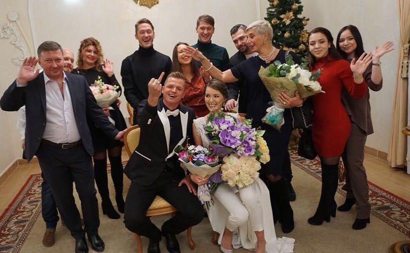 Дмитрий Тарасов расписался сАнастасией Костенко