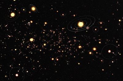 В среднем у каждой звезды в галактике Млечный Путь есть как минимум одна планета