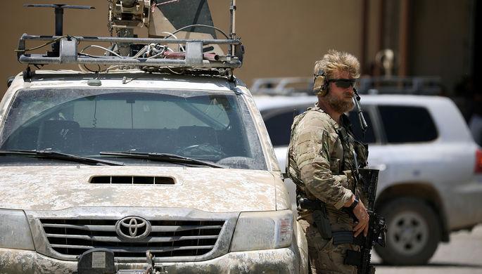 США вывели свои войска сбазы Аз-Закф наюге Сирии