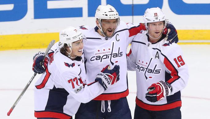Шайба Овечкина спередач Кузнецова иОрлова помогла «Вашингтону» обыграть «Бостон»