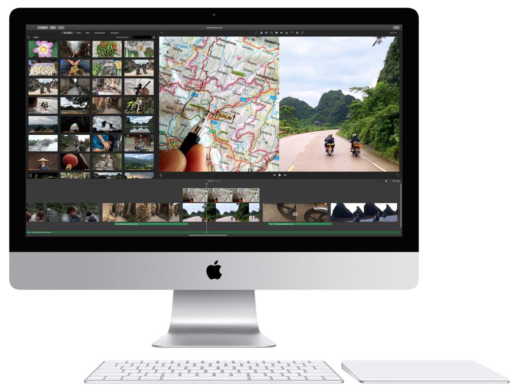 Внешне iMac ничем не отличается от предшественников