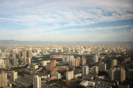 Вид Пекина, 2000 год