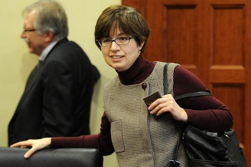 Ксения Юдаева на Гайдаровском форуме