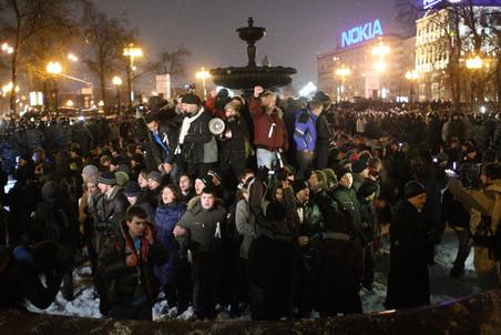 В Мосгордуме заявляют, что, возможно, подготовят поправки в закон о митингах