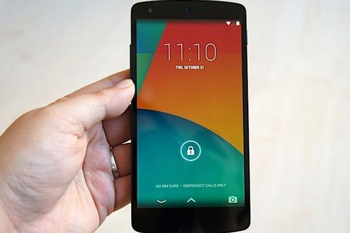 Google представила свой новый смартфон Nexus 5
