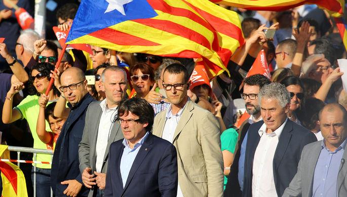 ВКаталонии обсуждают ответные меры надействия Мадрида— Кризис усугубляется