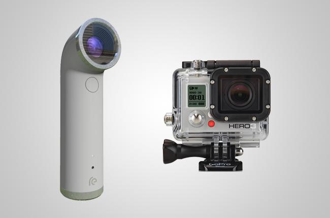 Современные мини-камеры и выглядят более стильно, и в пленке не нуждаются