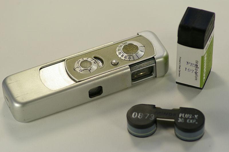 Мини-камера Бонда