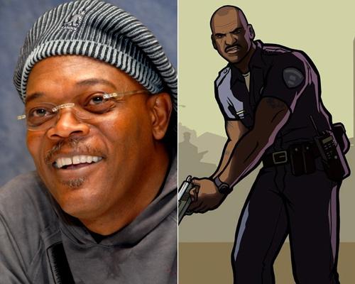 Сэмуэл Л. Джексон дал голос Фрэнку Тенпенни из GTA San Andreas
