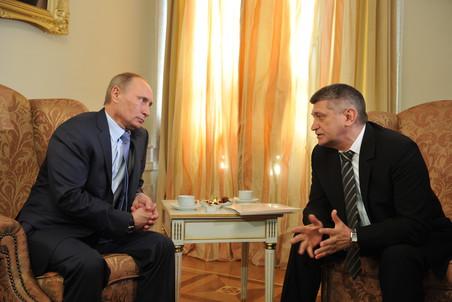 Владимир Путин не сказал Александру Сокурову ничего утешительного о судьбе «Ленфильма»