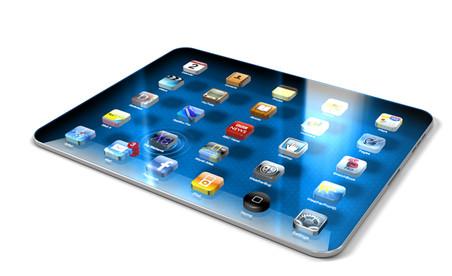 Версия дизайна будущего iPad 3