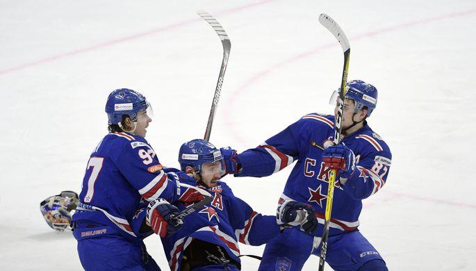 СКА разгромил «Динамо» в российской столице