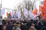 В Москве стартовало шествие «в поддержку узников Болотной», передает корреспондент «Газеты.Ru».