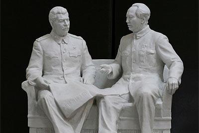 Сталин и Мао из глины и огня