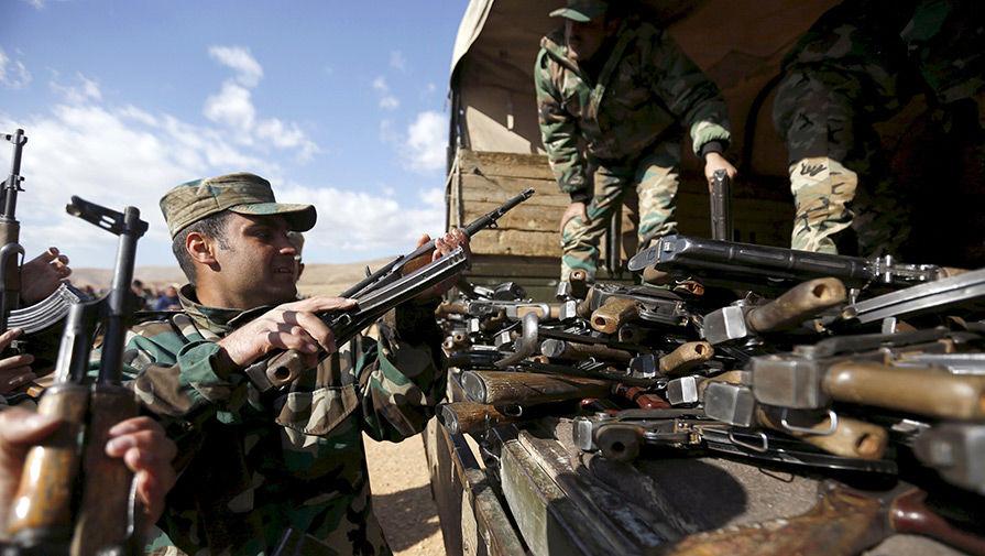 Армия Сирии наступает из последних сил