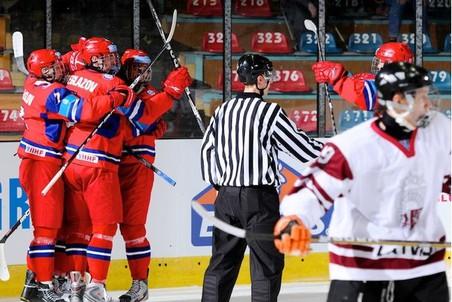 Сборная России с победы стартовала на чемпионате мира U-18