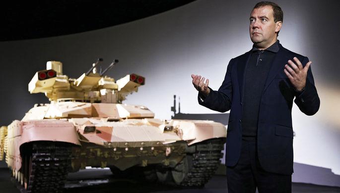 К соединению всех стран вборьбе стерроризмом призвал Медведев