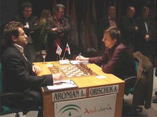 Александр грищук выиграл супертурнир в линаресе