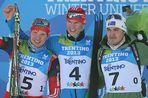 Российские биатлонисты выиграли золото и серебро в индивидуальной гонке на Универсиаде в Трентино