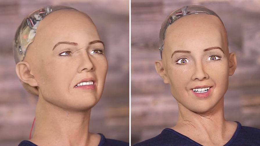 Робот-убийца «София» поведала освоем типаже идеального мужчины