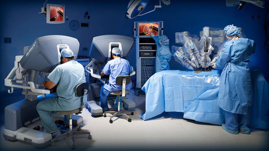 Робот-ассистированная хирургическая система «da Vinci» (англ. da Vinci Surgical System) —...