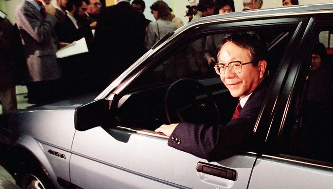 Скончался экс-президент Тойота