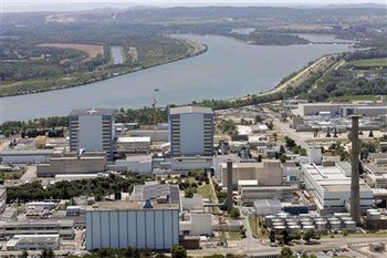 Взорвался ядерный центр Франции