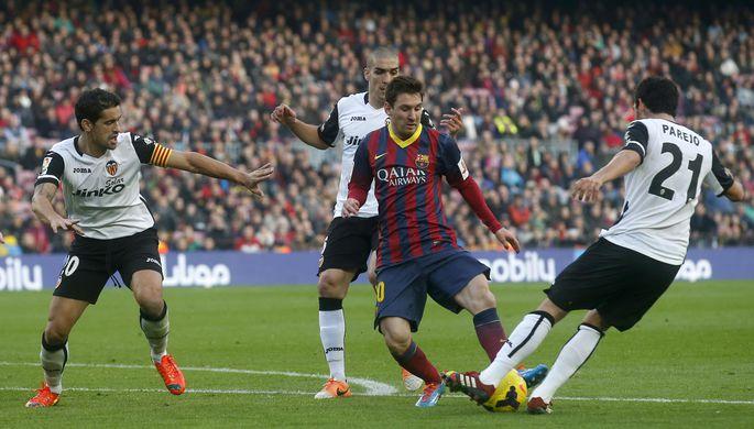 Вермален попал встартовый состав «Барселоны» наматч с«Валенсией»